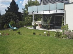 Spacieux appartement avec jardin